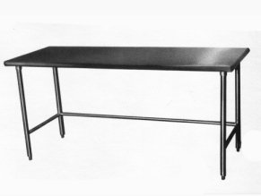Amtekco Open Base Work Tables - Stainless steel open base work table